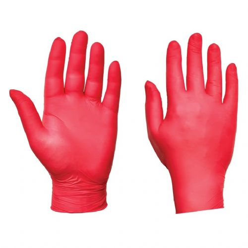 Supertouch Red Ultra Nitrile Powder Free Gloves - 2000 Pack